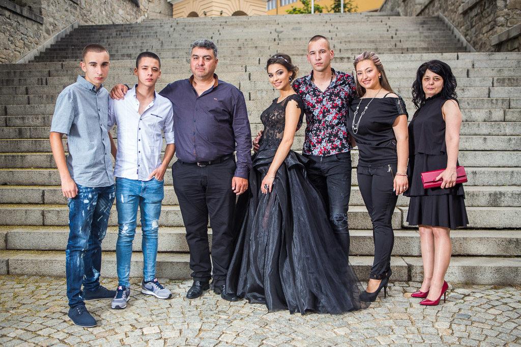 Абитуриентски бал в Пловдив - Стария град.